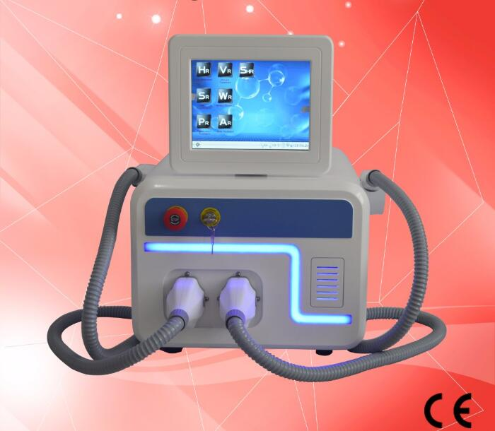 Up To Date IPL Hair Removal Machine With 2 Treatment Permanently RF Skin Lifting Tighten Elight System With Fast Shipping