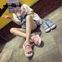 Muffin Bottom Womens Summer Shoes Concise Neutral  Sandals Fashion Leisure