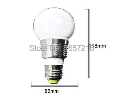 Lâmpadas Led e Tubos e27 colore lampen lampadina levou Fluxo Luminoso : 250-499 Lumens