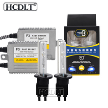 HCDLT AC 35 W Reator ДЛТ F3 HeartRay HID Conversion Kit Ксенон H1 H7 H11 9005 9006 9012 D2H HID ксеноновые лампы 4500 K 5500 K 6500 K