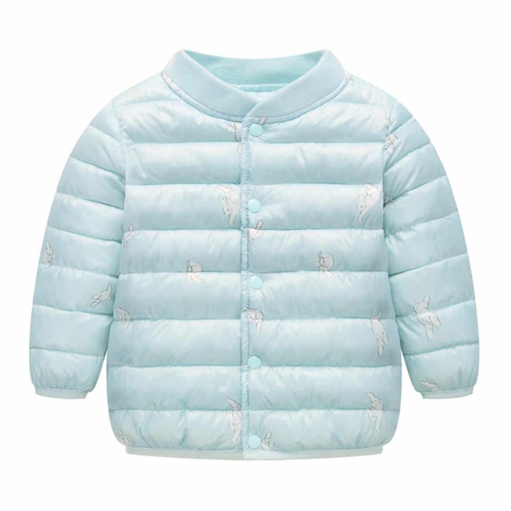 TELOTUNY/осенне-зимняя новая плюшевая и бархатная теплая зимняя куртка с рисунком для маленьких мальчиков и девочек, плотная теплая верхняя одежда, Z0829