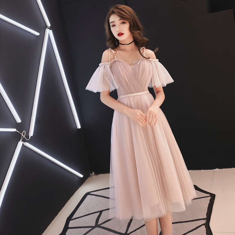 Elegant Summer Short Sleeve Lady Evening Dress Gown Sexy Slim Long Vestidos Noble Wedding Party Bridesmaid Dresses XS-XXL