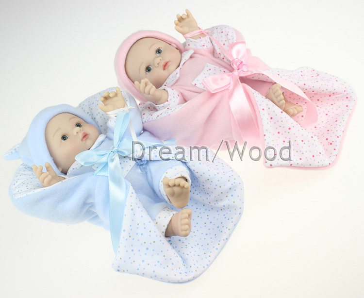 25cm full silicone reborn baby dolls toys for girls simulation baby doll play house bedtime toy girls brinquedos bebe doll new kitchen tableware doll accessories for barbie dolls toys girls baby play house toys