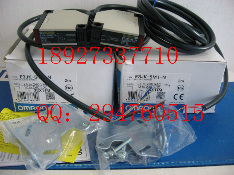 [ZOB] Supply of new original OMRON Omron photoelectric switch E3JK-5M1-N instead of E3JK-TR11-C --2PCS/LOT цена