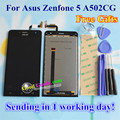 High Quality Touch Screen And LCD Display Digitizer Assembly For Asus Zenfone 5 A502CG  5.0 inch Cellphone Black Color 960*540