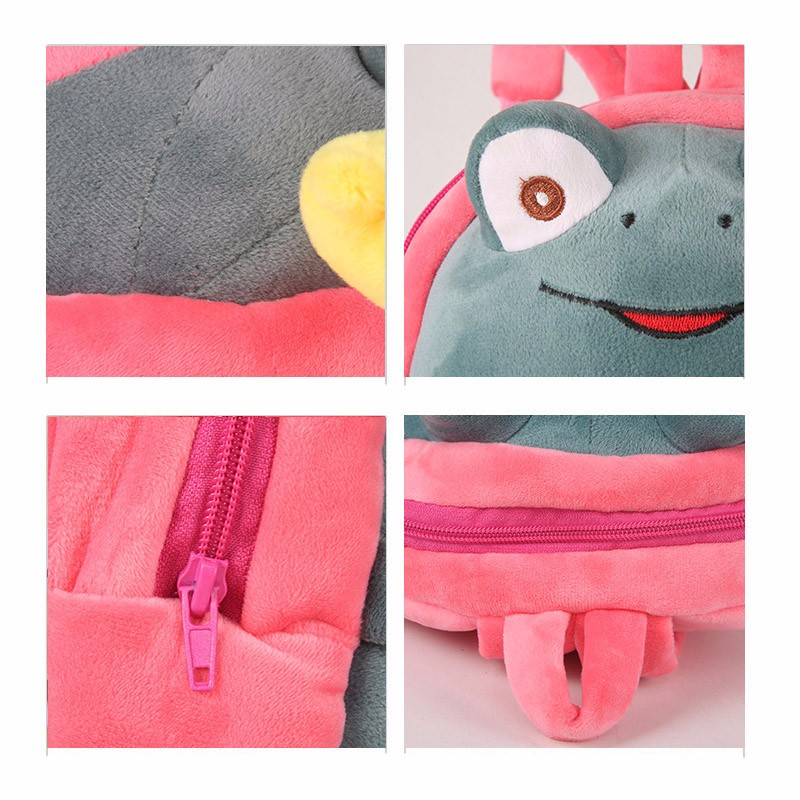 Frog backpack for kids16