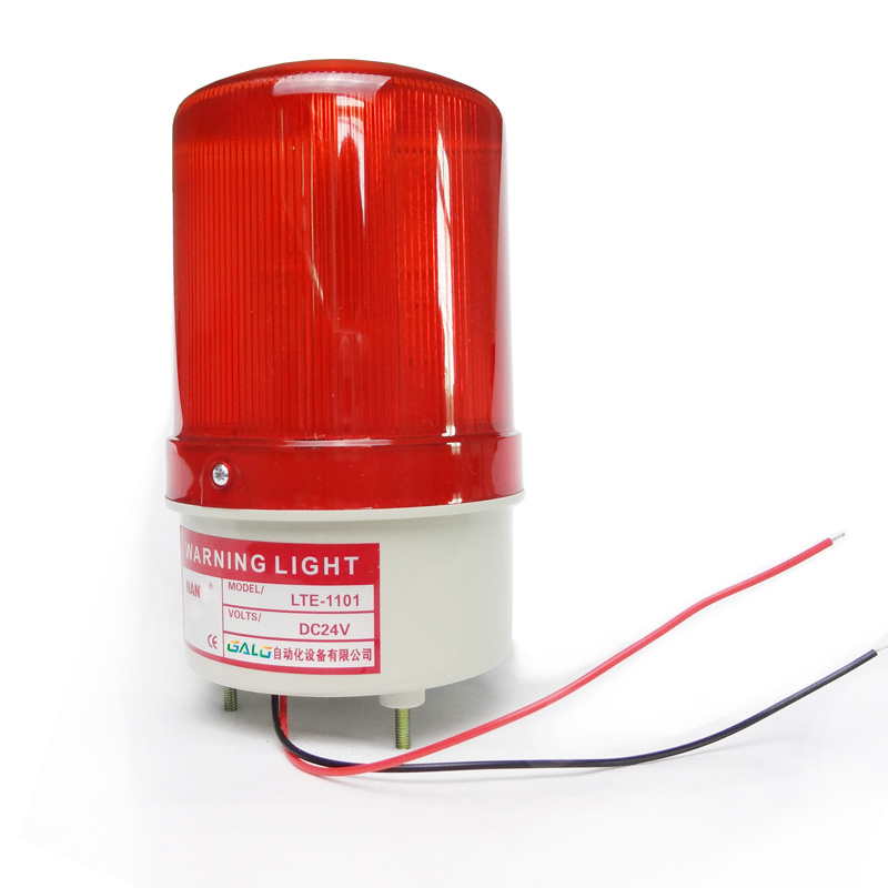 24V 12V 220V 110V RED Warning light LED lamp beacon for gsm alarm system 12v revolving warning light for vehicles red