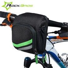 RockBros Bicycle Bag Cycling Front Handlebar Bag Mtb One-shoulder Backpack Bike Rear Seat Saddle Bag With Large Capacity Nylon