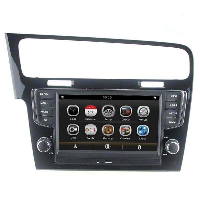 8 car dvd gps radio player for volkswagen vw golf 7 2013. Black Bedroom Furniture Sets. Home Design Ideas