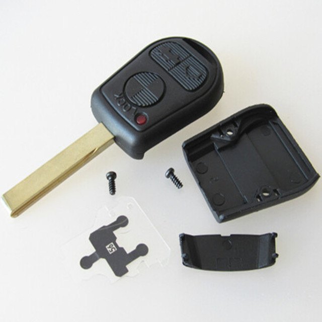 Blank Key Remote Shell 3 Botton Replacement For Bmw M3 E46 318ti
