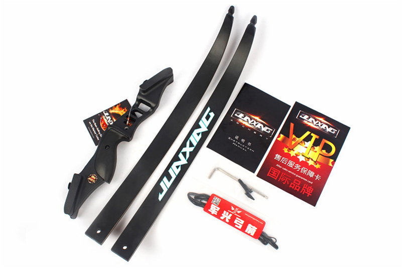 54 pouces arc classique 30-50 lbs longueur de hauteur 17 pouces arc de chasse américain pour tir à l'arc Sport de plein air pratique de chasse - 4