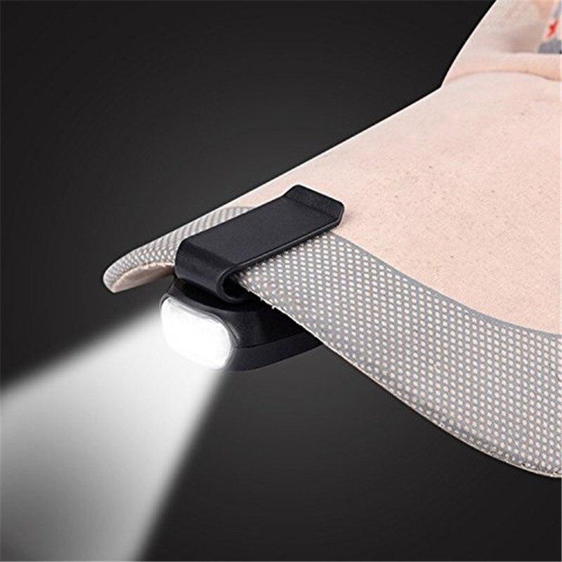 3led Scheinwerfer Kappe Licht 90 Grad Drehbare Clip-auf Hut Licht Hände Freies Helle Kopf Lampe Laterne Camping Radfahren Clear-Cut-Textur