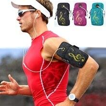 Новинка, спортивная сумка для бега, прочная сумка для пробежек, нарукавников, сумки для мобильных телефонов, меньше 6 дюймов, набор ключей с отверстием для гарнитуры