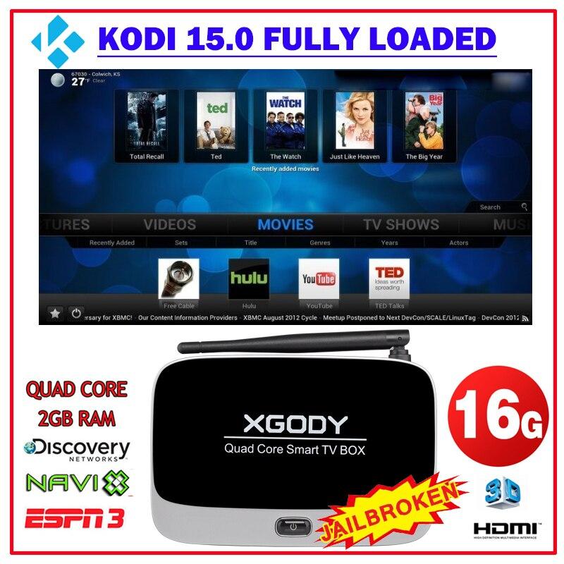 XGODY Original CS918+ XBMC KODI Quad Core 1 4GHz Android 4 4