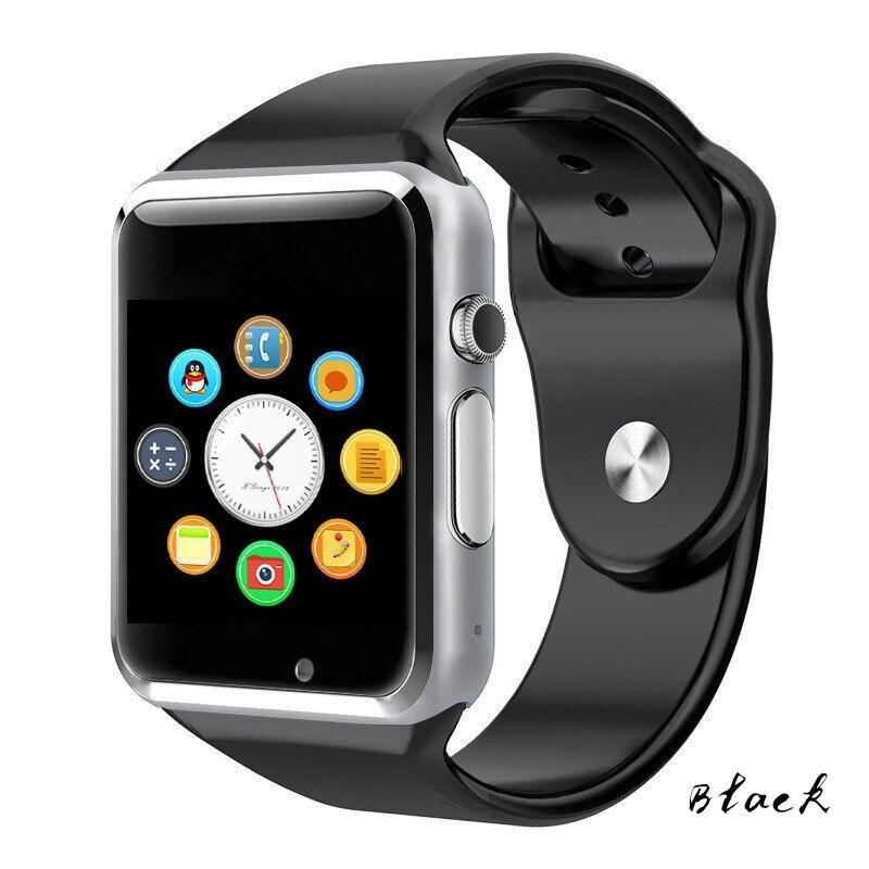 A1 relógio de Pulso Bluetooth Relógio Inteligente Pedômetro Esporte Com Câmera SIM Smartwatch Para Android Smartphones Rússia T15 boa do que DZ09