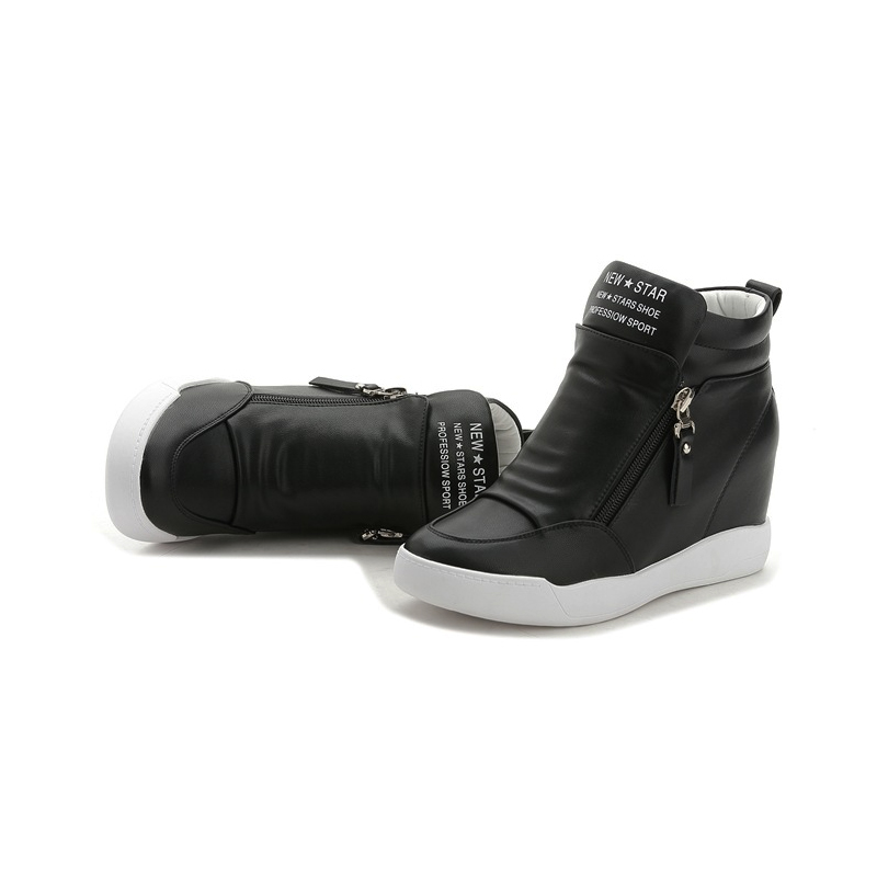 Image 3 - FUJIN Brand Women Ankle Boots Winter Keep Warm Shoes Lace Up Pu Leather Female Shoes Comfotable for Women Shoes-in Ankle Boots from Shoes