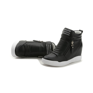 Image 3 - FUJIN Brand Women Ankle Boots Winter Keep Warm Shoes Lace Up Pu Leather Female Shoes Comfotable for Women Shoes