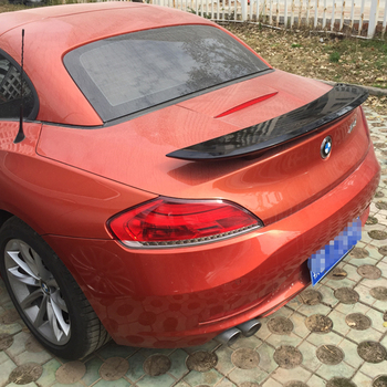 For BMW Z4 E89 Coupe Car Decoration 18i 20i 23i 28i 30i 35i ABS Plastic Paint Painting Color Rear Trunk Spoiler 2009-2014 image