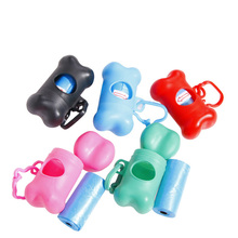 font b Pet b font Dog Waste Poop Bag Dispenser Holder Case Bags Attachable To