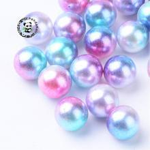 Imitation Pearl Acrylic Beads, No Hole Beads, Round, DeepSkyBlue, 5mm; about 5000pcs/bag
