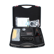 16800mAh Emergency Mini Car Vehicle Jump Starter With Power Bank Multi-function LED Battery With Air Pump