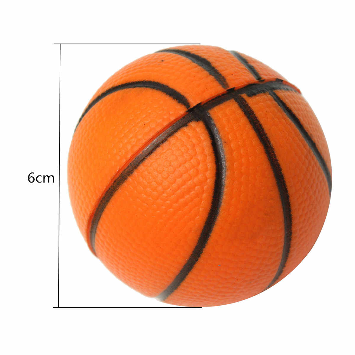 Soft Foam Ball Wrist Exercise Stress Relief Squeeze Tennis Ball/Basketball/Football Gift Toy Fitness Balls 6CM D Toy Balls