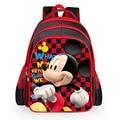 Buena Calidad 16 pulgadas mochila niños bolsa de bolsa de la escuela primaria niños mochila niños de dibujos animados mochila de escuela para niñas mochila