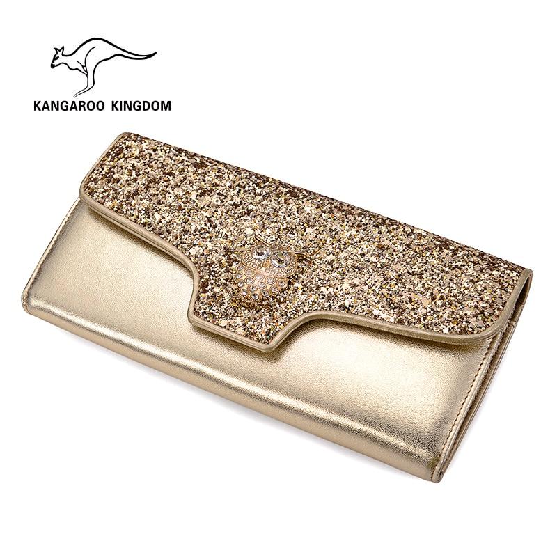 KANGAROO KINGDOM fashion women wallets split leather trifold lady purse owl decoration wallet kiran kumar d e v s facade performance of glazed buildings