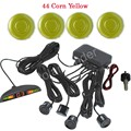 Car parking sensor with LED display monitor 4 sensors 44 colors to choose buzzer alarm Car Reverse Radar auto detector