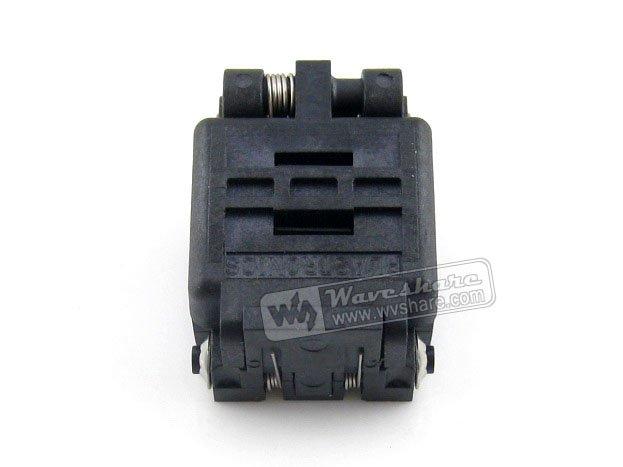 QFN8 MLP8 MLF8 08QN65T33030 QFN Plastronics IC Test Socket Programming Adapter  2 Sides 3*3mm 0.65mm Pitch
