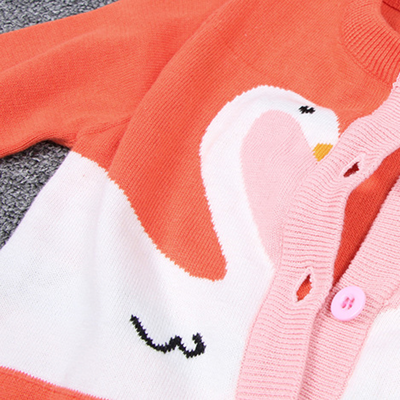 1-6yrs-Baby-Girls-Swan-Cardigan-Sweater-Children-Outerwear-Coats-New-2017-Autumn-Sweater-Fashion-Kids-Knit-Coat-Girls-Cardigan-3