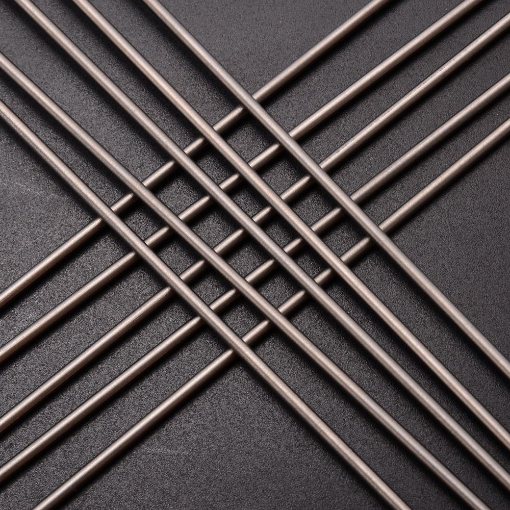 10pcs 2mm Diameter Titanium 6al-4v Round Bar Ti Gr.5 Grade 5 Welding Rods 250mm Length