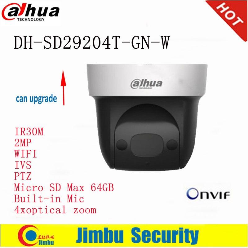 купить Dahua PTZ Original English version SD29204T-GN-W 2Mp Network WIFI IP Camera Built-in Mic 4xoptical по цене 10737.49 рублей
