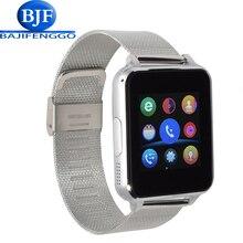 E6 bluetooth montre smart watch pour android téléphone sport reloj inteligente soutien caméra SIM carte En Acier bracelet en cuir PK DZ09 GT08 Q18