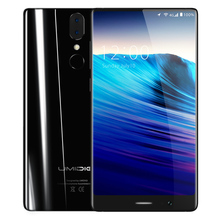 "UMIDIGI Crystal 5.5"" Bezel-less FHD Full Screen 4G Smartphone Android 7.0 MT6737T Quad Core 2GB 16GB Cellphone Fingerprint 13MP"