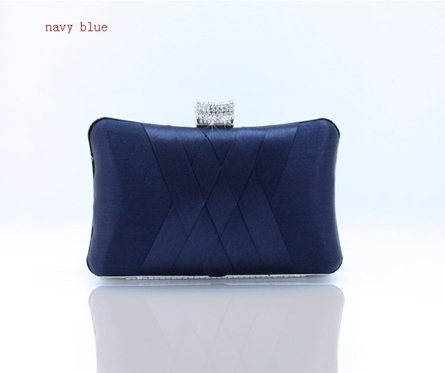 Satin Blue Evening Bags Promotion-Shop for Promotional Satin Blue ...