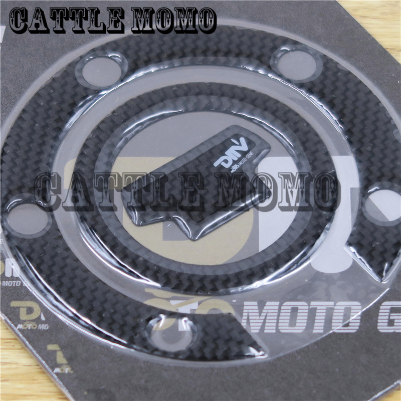 Carbon Fiber Fuel Gas Cap Pad Sticker Decal For Yamaha YZF R1 R6 R6S FZ1 FZ400 FZS600 VJ700 FJR 1300 XJR400 XJ6 All Year
