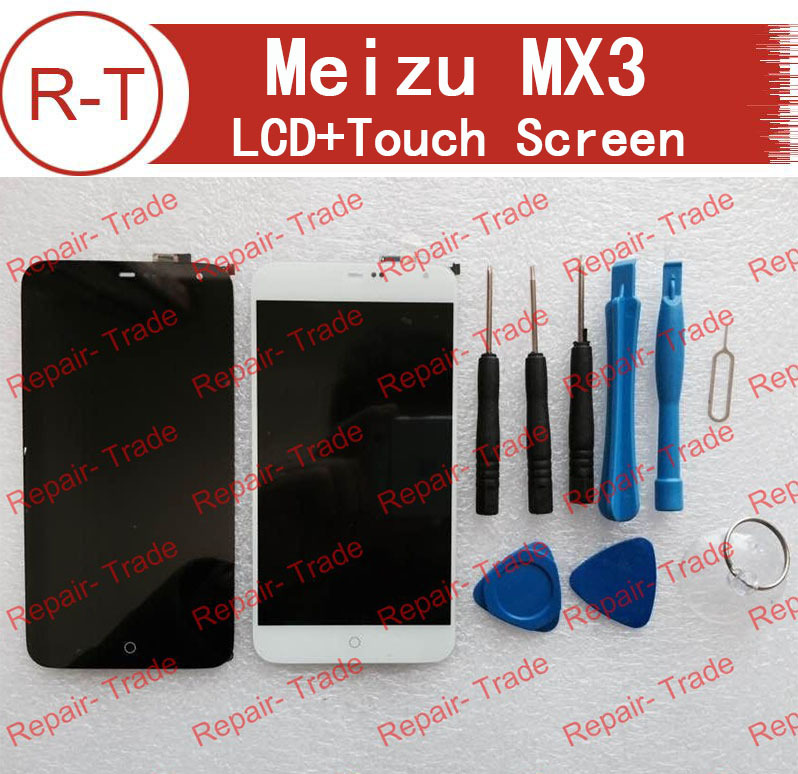 ФОТО Meizu MX3 LCD Screen High Quality Touch screen +Lcd display Touch digitizer Glass Replacement For MEIZU MX3 Mobile Cell Phone