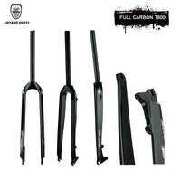 JIMAITEAM full carbon fiber carbon fiber 26 /27.5/29er hard mountain bike fork carbon fork mtb bike fork / matte /gloss
