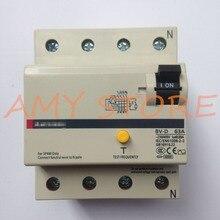 6A 16A 20A 25A 32A 40A 63A BV D 4P Earth Leakage Circuit Breaker Residual Current Circuit breaker RCBO MCCB