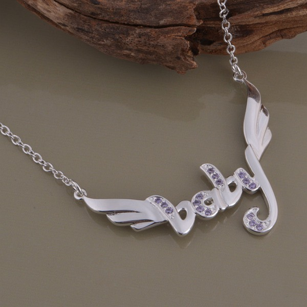 wholesale High quality silver Fashion jewelry chains necklace pendant WN-1301