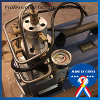 Air Compressor 30 MPA 4500 PSI 300Bar 220 V Electrical High Pressure PCP Rifle Refilling Air Pump Water Cooling Airgun