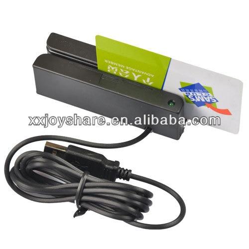 MSR90 3Tracks Hi Loco magnetic card reader USB interface