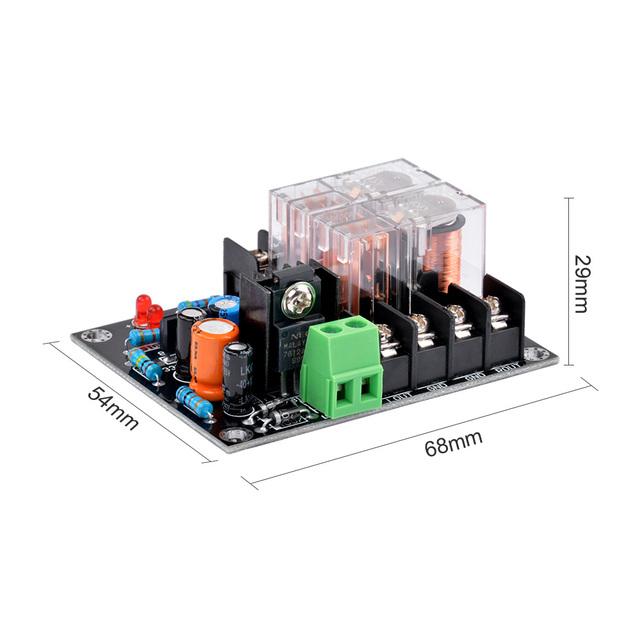 AIYIMA 12-18V UPC1237 Speaker Protection Board loudspeaker Protection Board kit Part Boot delay DC Monitor