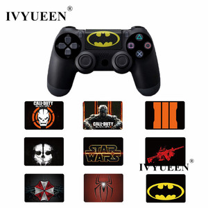 Image 1 - IVYUEEN 1 PCS PVC Touch Pad Decal Vinyl Sticker For Dualshock 4 PS4 Pro / Slim Controller Touchpad Skin Cover for PlayStation 4