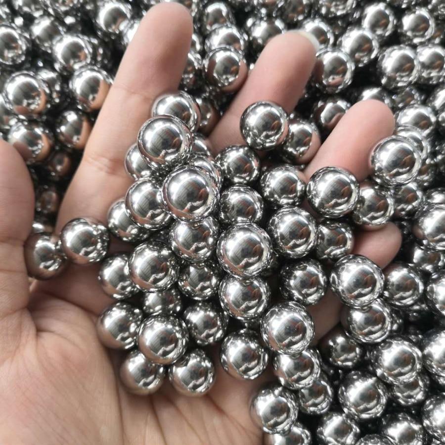 100pcs 6mm 8mm Diameter Steel Ball For Hunting Professional Slingshot Bearing Bow Ammo Gun Sling Shot Balls Bullet Accessories