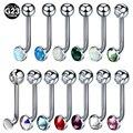 1 шт., титановые кольца для пирсинга G23 в виде половой киски