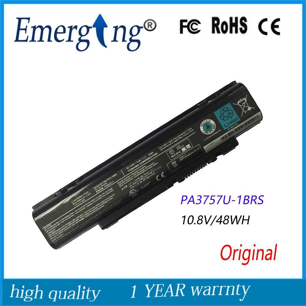 10.8V 48Wh New  Original  Laptop Battery For Toshiba Qosmio PA3757U-1BRS PABAS213 F60 F750 F755 T750 T851