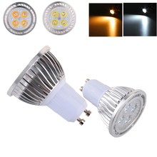 GU10 4W LED Light Bulb 4x 3030SMD LED Lamp AC 85-265V Warm White / White Light 380~420LM