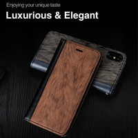 For iPhone XS Case Shockproof 2019 New Flip Leather Case For Iphone 8 8plus 7 7plus Luxury 360 Full Body Cases For Iphon X XS
